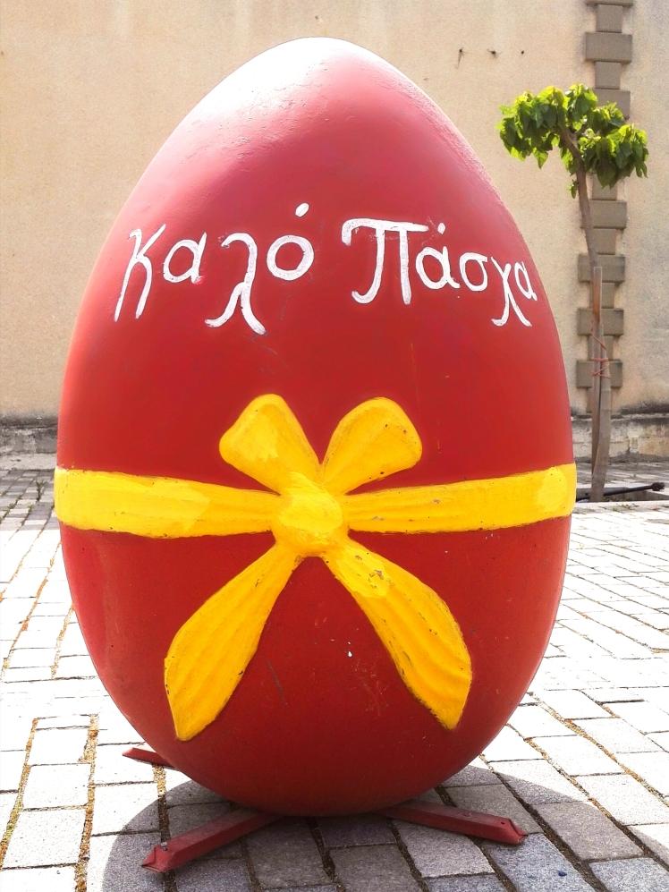 Easter decoration Kiti Village